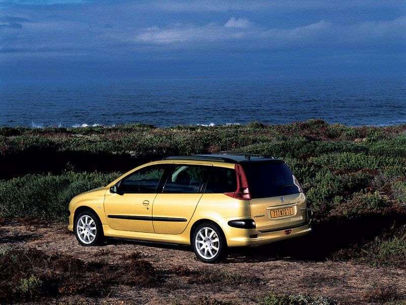 Peugeot 206 1st generation 1.6 MT wagon (2002–2005)