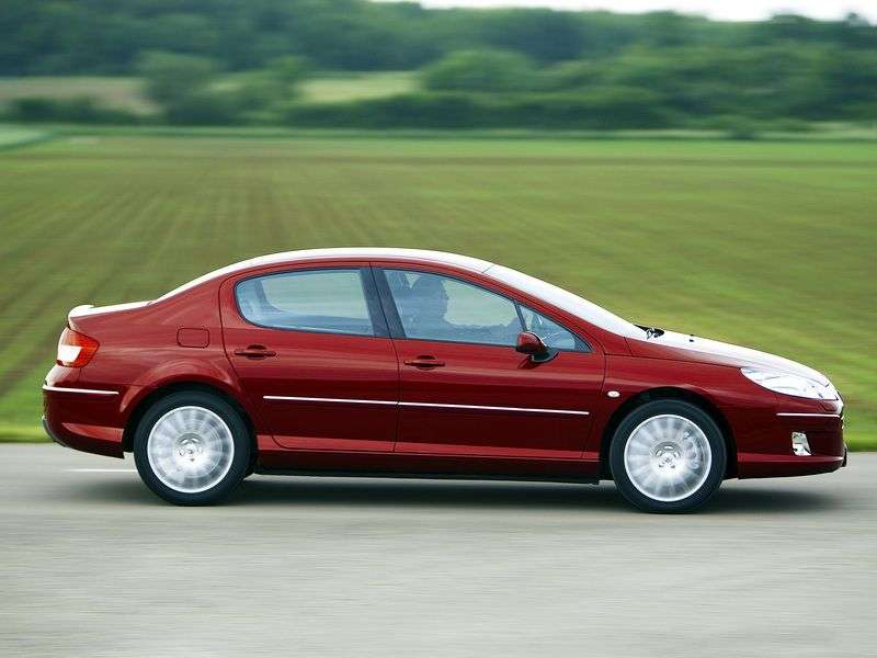 Peugeot 407 1st generation [restyled] sedan 2.0 AT (2008–2010)