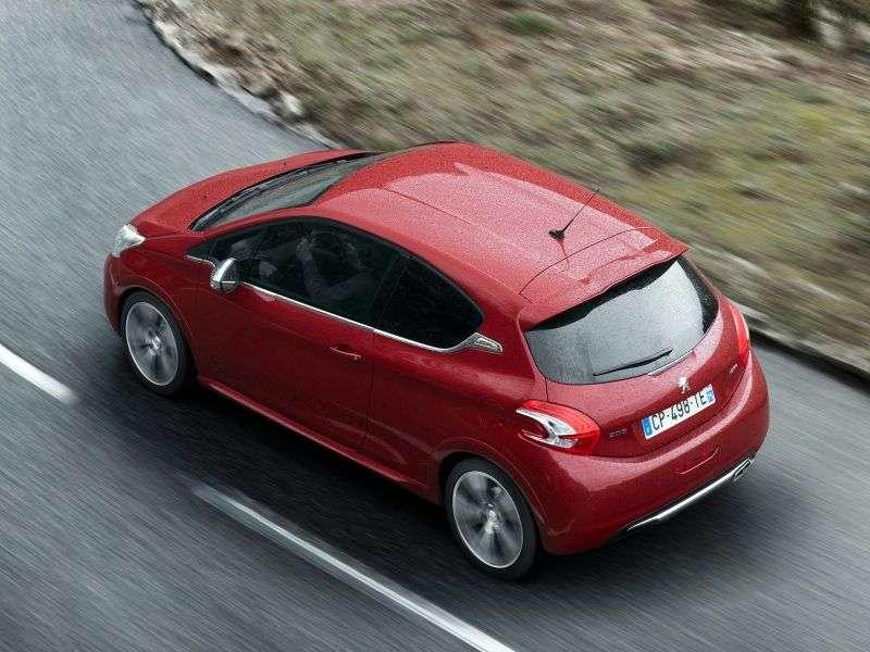Peugeot 208 GTI hatchback 3 drzwiowy pierwszej generacji 1,6 MT (2012 obecnie)