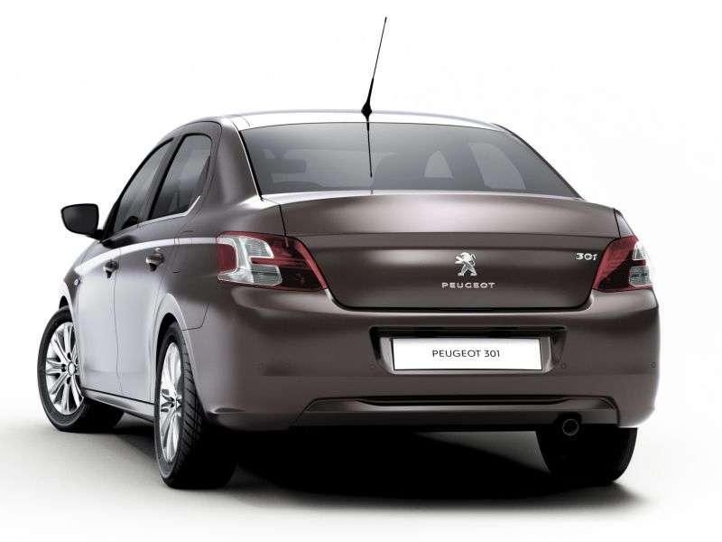 Peugeot 301 2nd generation sedan 1.6 HDi MT Allure (2012 – n.)