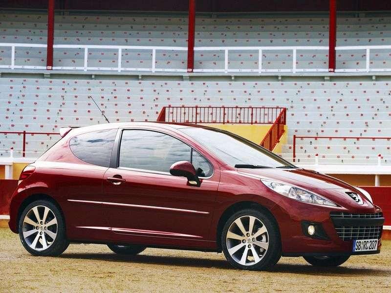 Peugeot 207 1st generation [restyled] RC hatchback 3 bit. 1.6 MT (2009–2010)