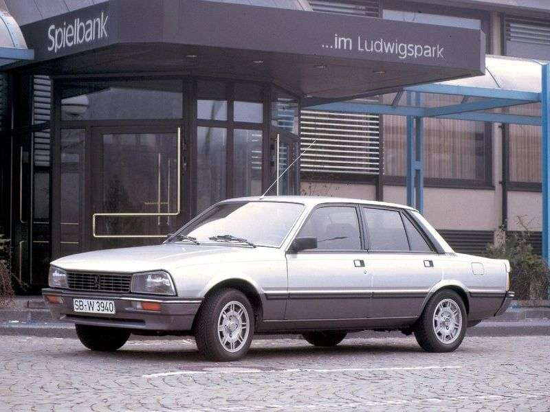 Peugeot 505 1st generation 2.2 MT STI sedan (1981–1983)