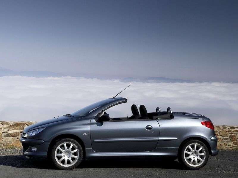 Peugeot 206 1st generation 1.6 MT HDI convertible (2005–2007)