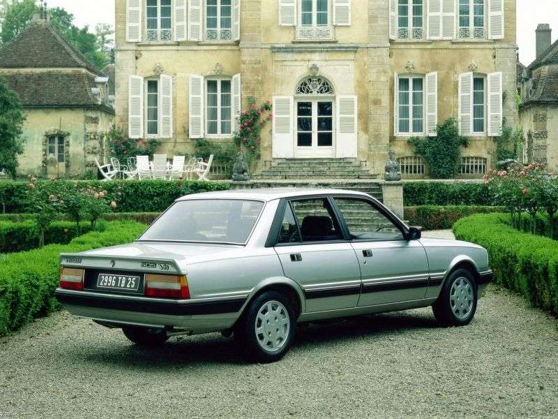 Peugeot 505 1st generation [restyled] 2.2i AT sedan (1988–1990)
