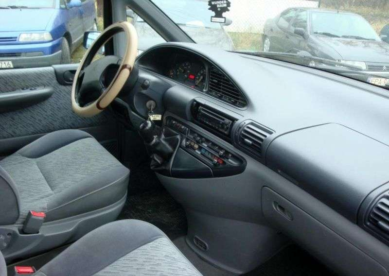 Peugeot 806 221 Minivan 2.1 TD MT (1997–1999)