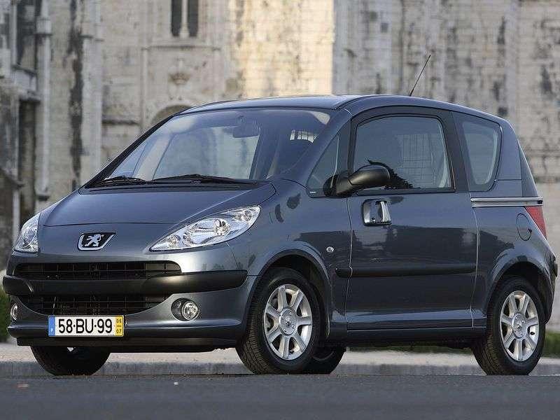 Peugeot 1007 1st generation 1.6 2 Tronic minivan (2005–2009)