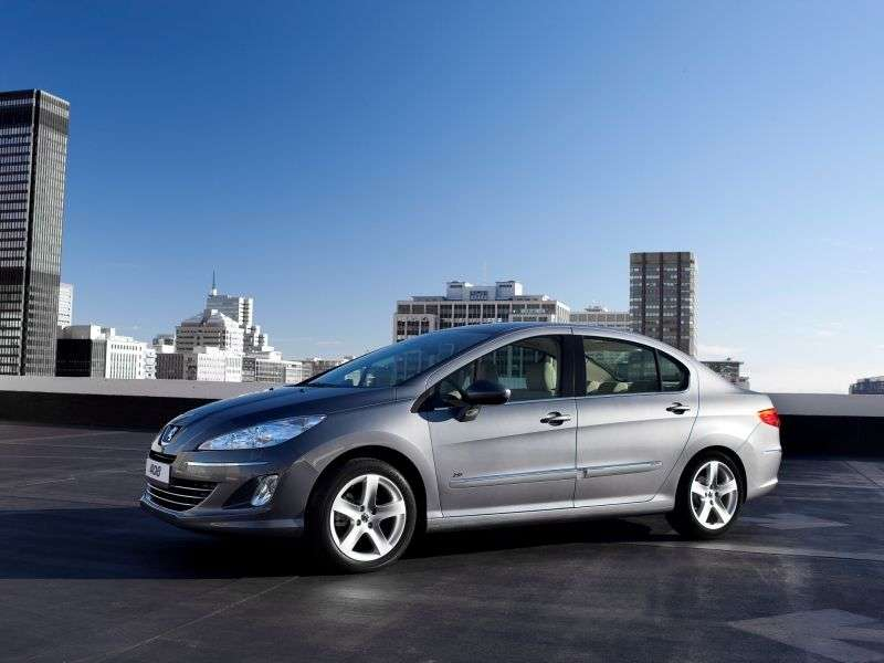 Peugeot 408 1st generation 1.6 MT Access sedan (2012) (2012 – n.)