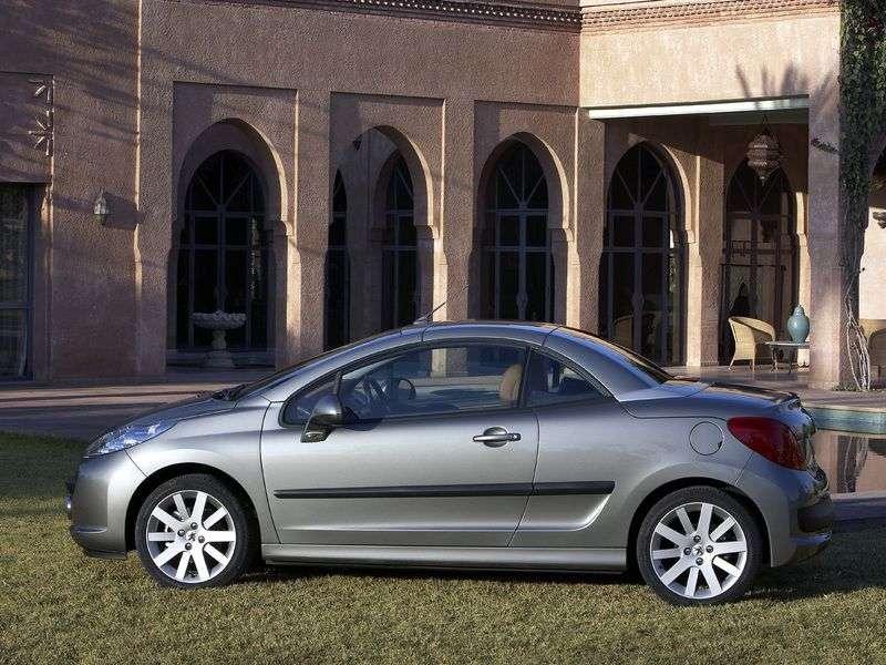 Peugeot 207 1st generation 1.6 MT convertible Dynamique (2006–2009)