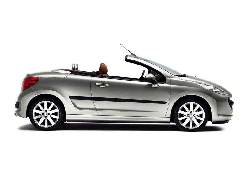 Peugeot 207 1st generation 1.6 AT CC Sport Convertible (2006–2009)