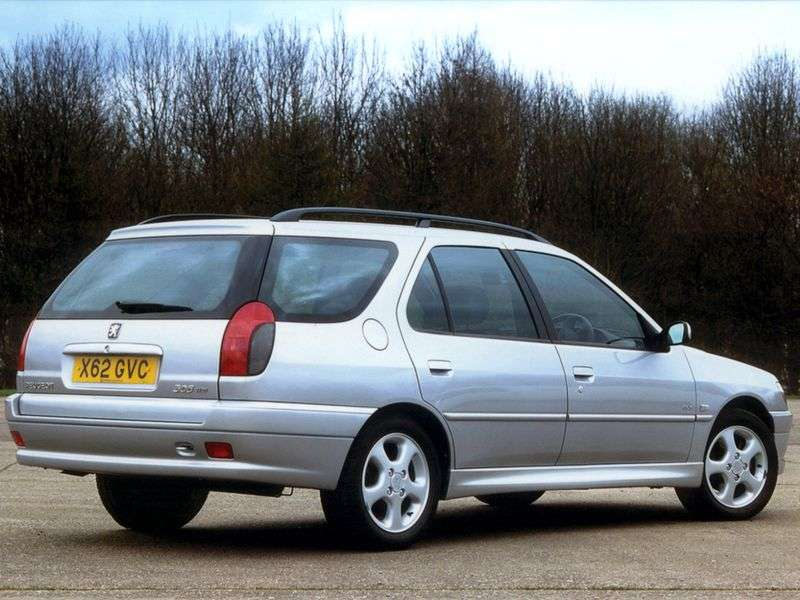 Peugeot 306 1st generation wagon 1.8 AT (1997–2000)