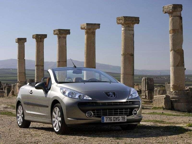 Peugeot 207 1st generation 1.6 AT Dynamique Convertible (2006–2009)