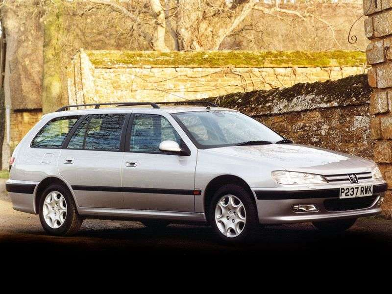 Peugeot 406 1st generation [restyling] station wagon 2.0 HDi AT (1999–2004)
