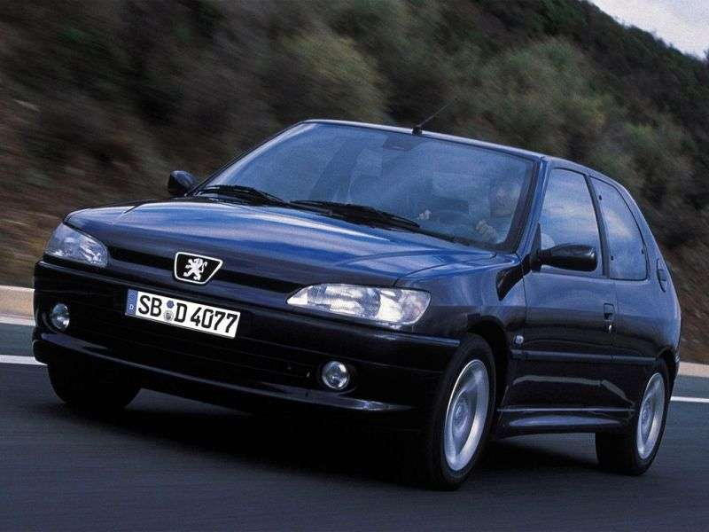 Peugeot 306 1st generation hatchback 3 dv. 2.0 MT (1993–2000)
