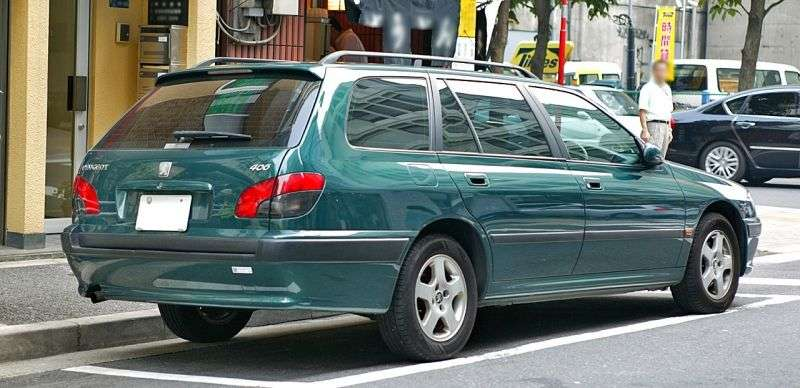 Peugeot 406 1st generation wagon 2.0 Turbo MT (1997–1998)