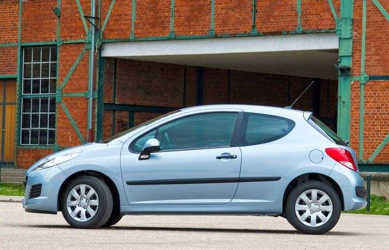 Peugeot 207 1st generation [restyling] 3 bit hatchback 1.4 MT Access (2009 – n. In.)