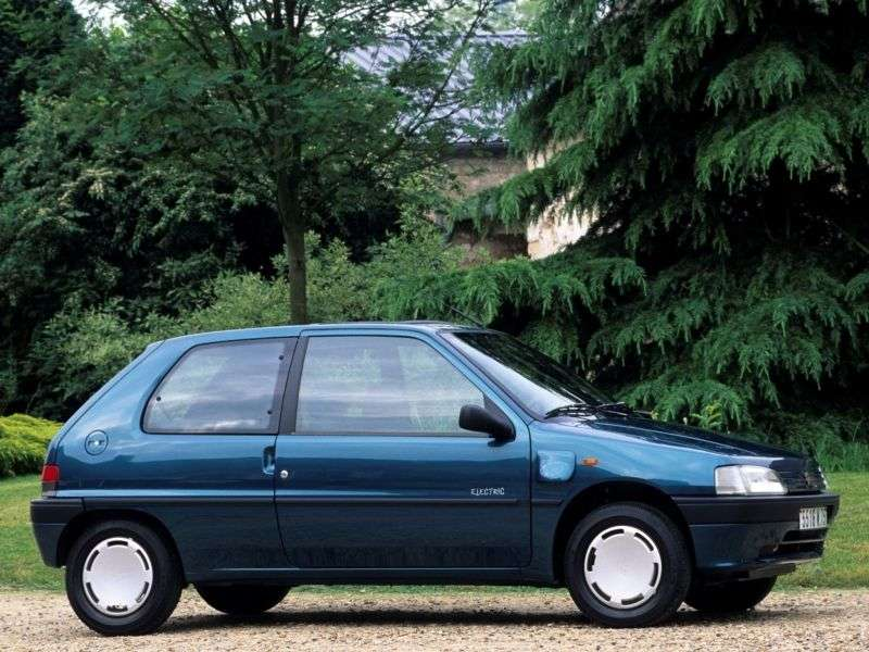 Peugeot 106 1st generation hatchback 1.6 MT (1994–1996)