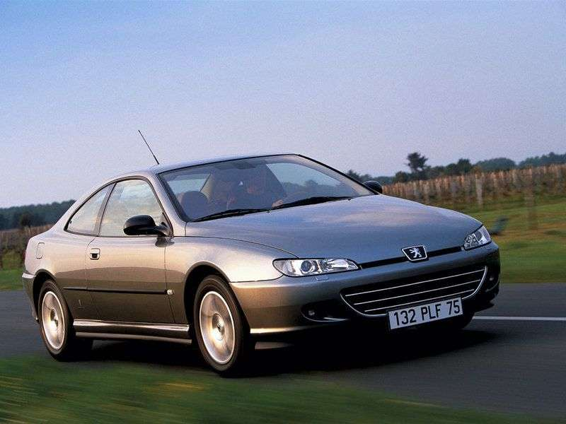 Peugeot 406 1st Generation [Restyling] Coupe 2.0 AT (1999–2003)