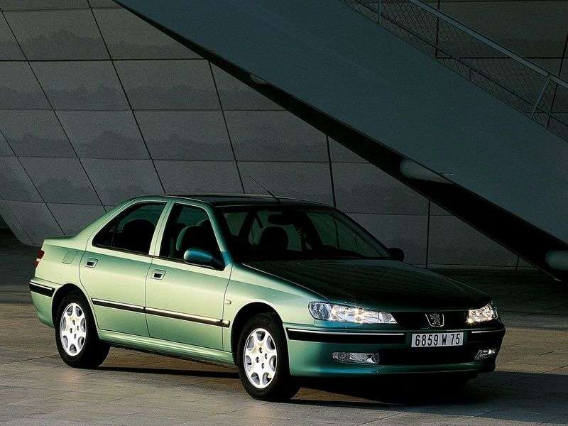 Peugeot 406 1st generation [restyled] 2.0 HPi AT sedan (2001–2004)