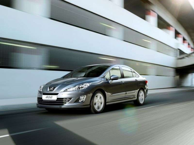 Peugeot 408 1st generation sedan 1.6 THP AT Active (2013) (2012 – n.)