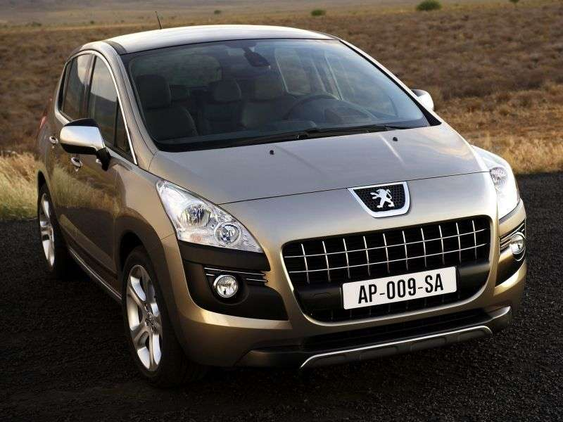 Peugeot 3008 1st Generation Crossover 1.6 e HDi AT Allure (2012) (2012 – current century)