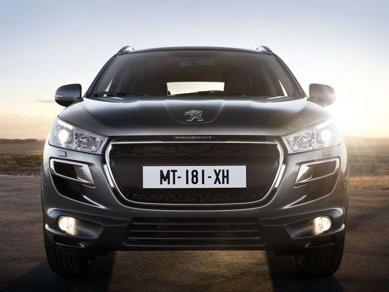 Peugeot 4008 1st generation 2.0 MT 4WD Active Crossover (2013) (2012 – n.)