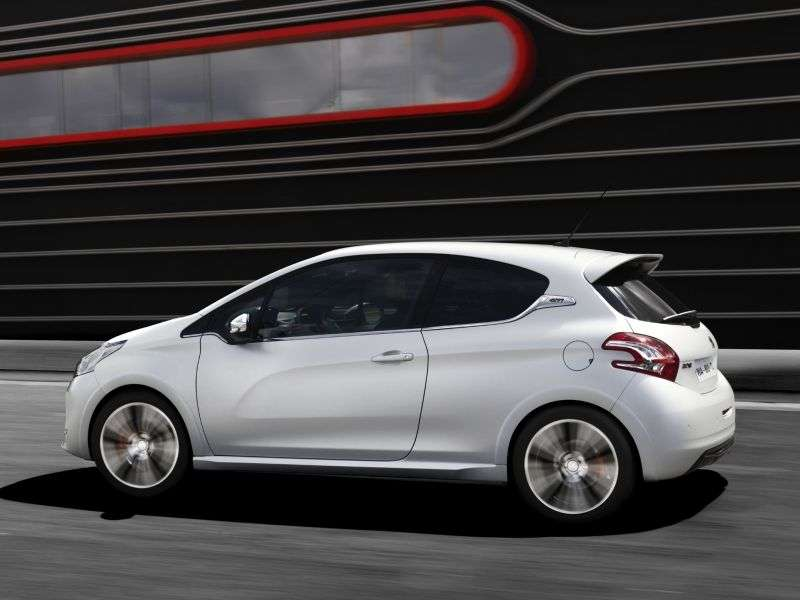 Peugeot 208 1st generation GTI hatchback 3 bit. 1.6 MT (2012 – n. In.)