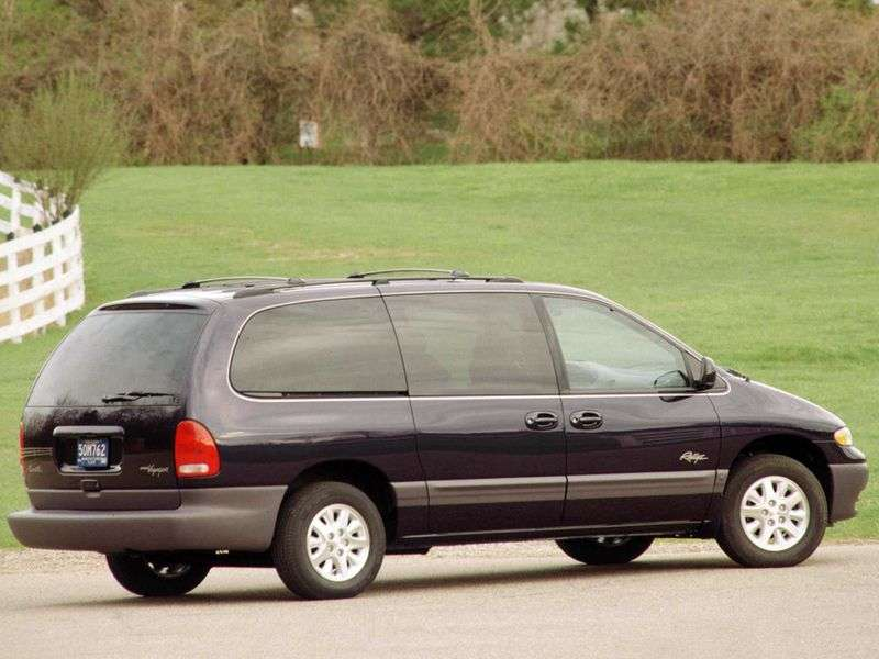 Plymouth Voyager / Grand Voyager 3rd generation Grand 5 door minivan 3.3i AT (1995–2001)