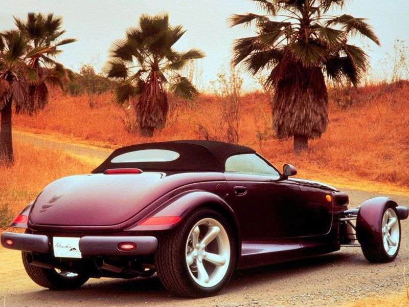 Plymouth Prowler 1st generation convertible 3.5 AT (1997–2002)