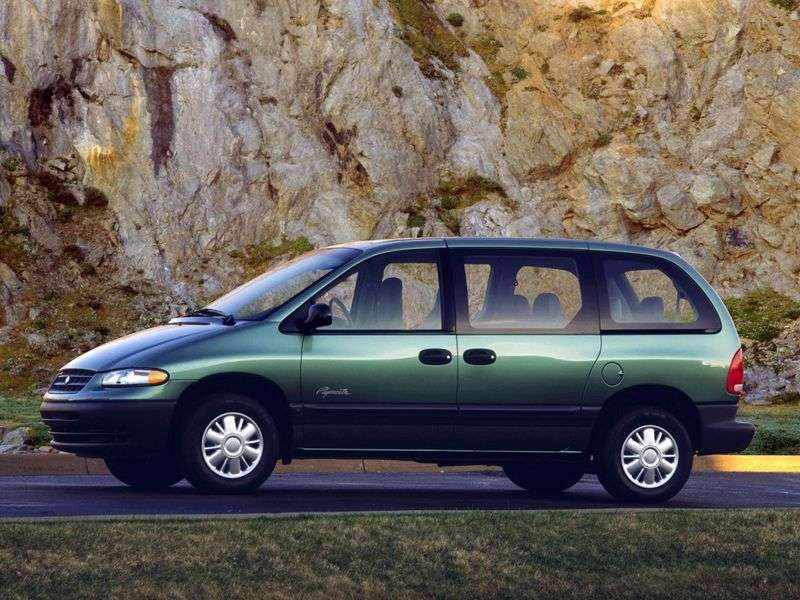 Plymouth Voyager / Grand Voyager 3rd generation 5 in minivan 3.0 SE AT (1996–2000)
