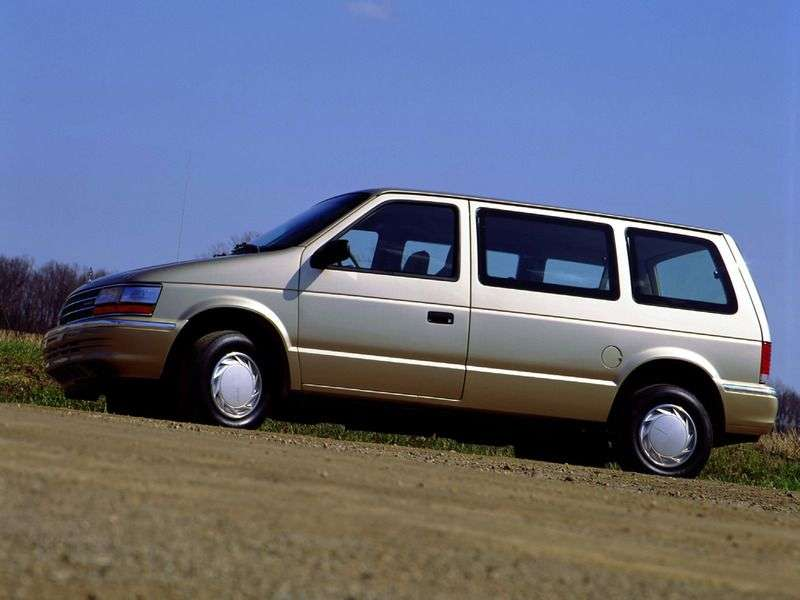 Plymouth Voyager / Grand Voyager 2nd generation minivan 3.3i AT (1990–1995)