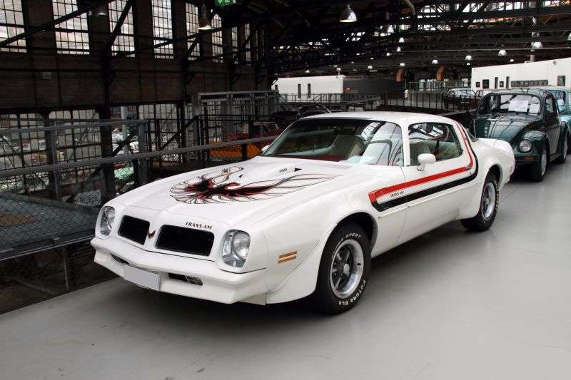 Pontiac Firebird 2nd generation [2nd restyling] Trans Am Coupe 2 dv. 7.5 MT (1976–1977)