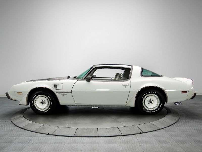 Pontiac Firebird 2nd generation [4th restyling] Trans Am T Roof targa 6.6 MT (1979–1981)