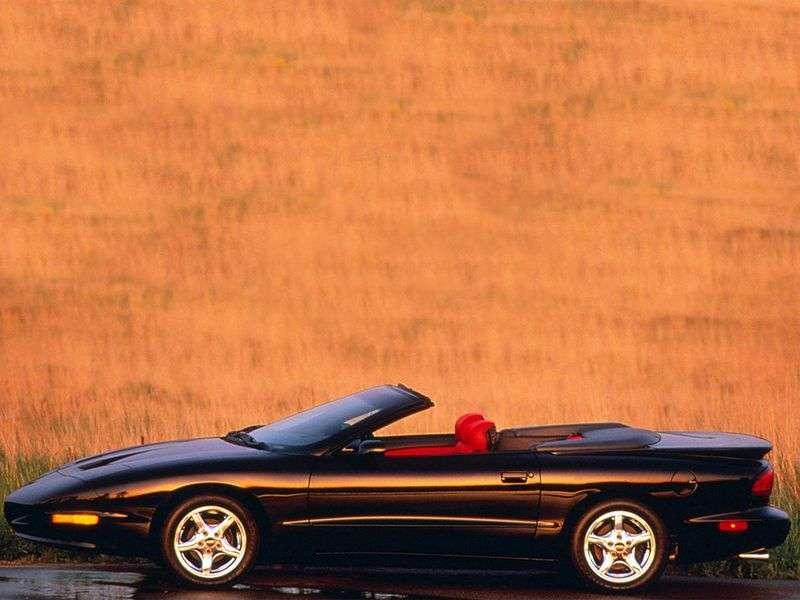 Pontiac Firebird 4th generation convertible 5.7 MT (1993–1997)