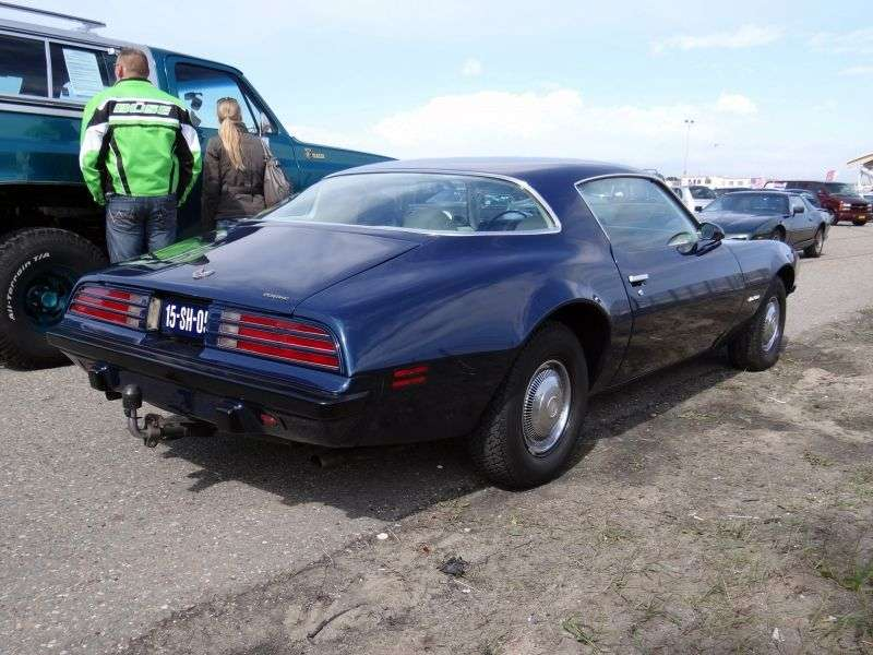 Pontiac Firebird 2nd generation [restyling] Esprit coupe 2 bit. 6.6 Hydra Matic (1974–1976)