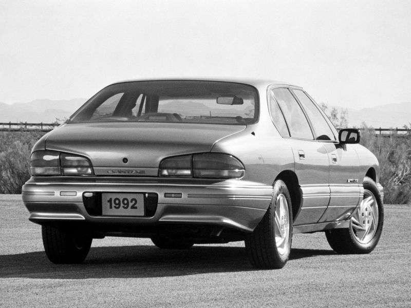 Pontiac Bonneville 8.generacja SE / SSE sedan 3.8 AT SE (1991 1994)
