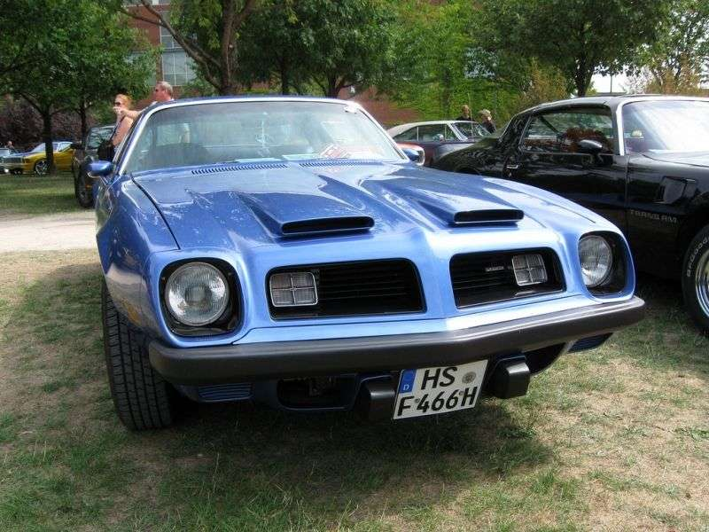 Pontiac Firebird 2nd generation [restyling] Formula coupe 2 dv. 5.7 3MT (1974–1976)