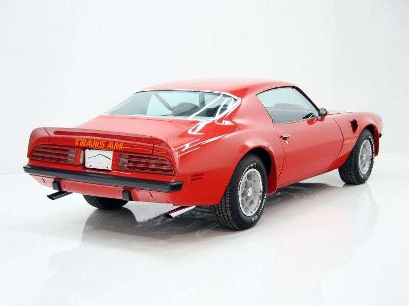 Pontiac Firebird 2nd generation [restyling] Trans Am Coupe 2 dv. 6.6 MT (1974–1976)