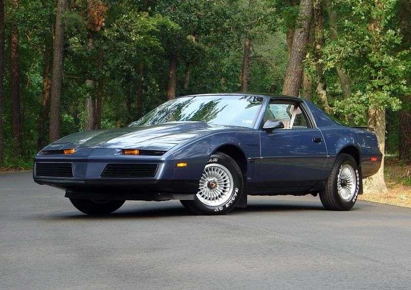 Pontiac Firebird 3rd generation T Roof Targa 2 dv. 2.8 MT (1982–1982)