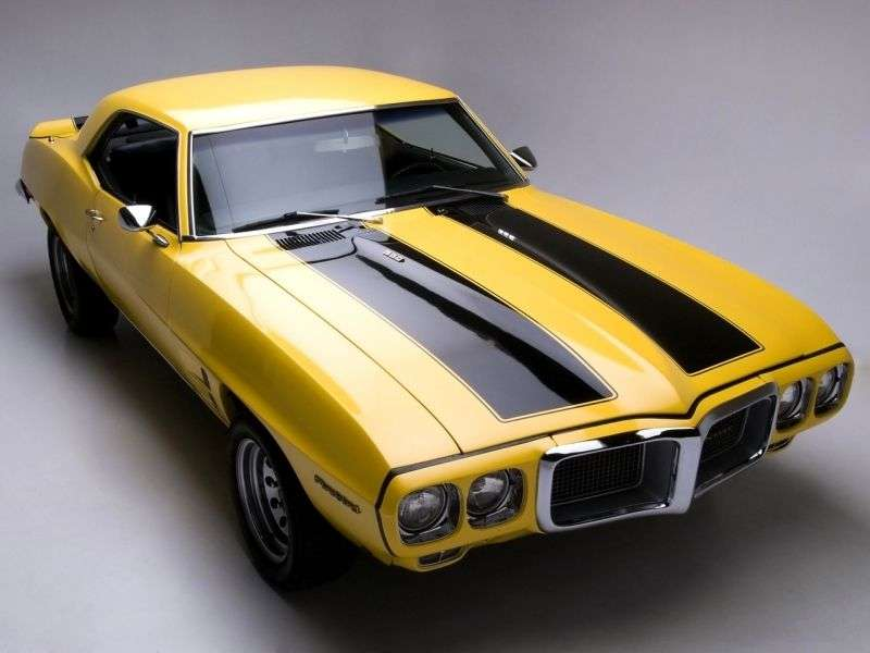 Pontiac Firebird 1st generation [2nd restyling] coupe 2 dv. 4.1 3MT (1969–1969)