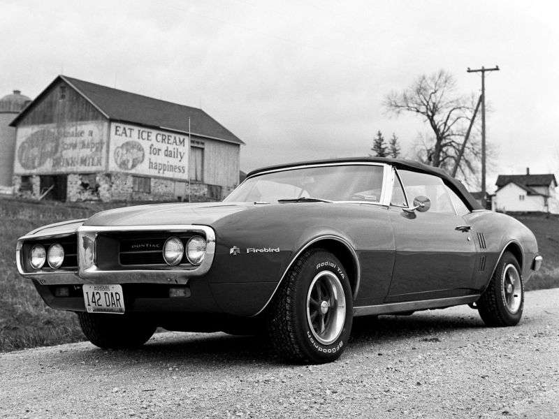 Pontiac Firebird 1st generation coupe 5.3 AT (1967–1967)