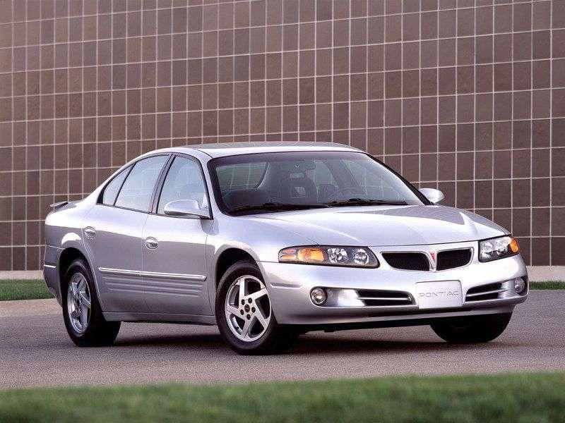 Pontiac Bonneville 9th generation SE sedan 3.8 AT (2000–2004)