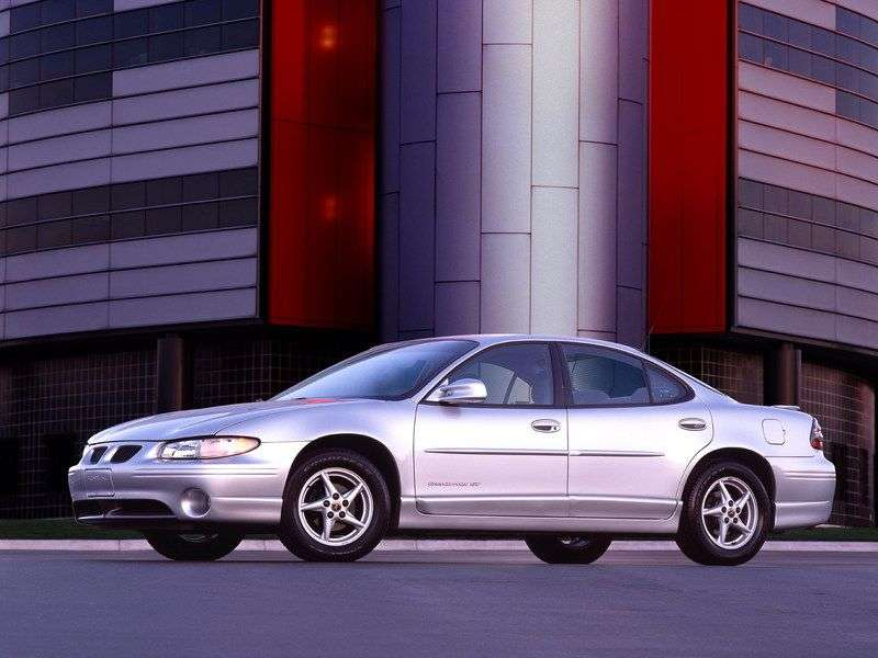 Pontiac Grand Prix 6th generation GT / GTP / SE Sedan 3.8 AT GTP (1997–2003)