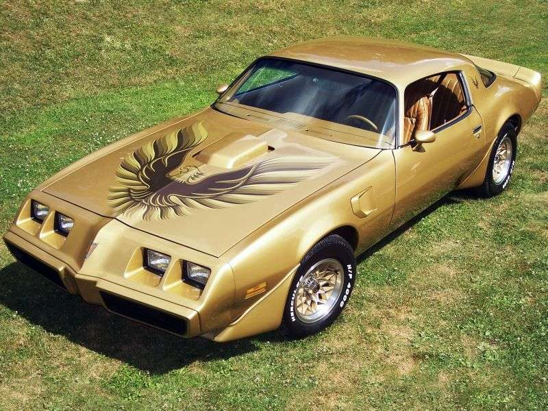 Pontiac Firebird 2nd generation [4th restyling] Trans Am Coupe 2 dv. 6.6 MT (1979–1981)