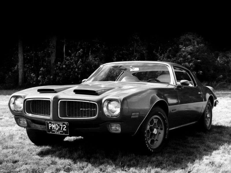 Pontiac Firebird 2nd generation Formula Coupe 2 dv. 6.6 4MT (1973–1974)