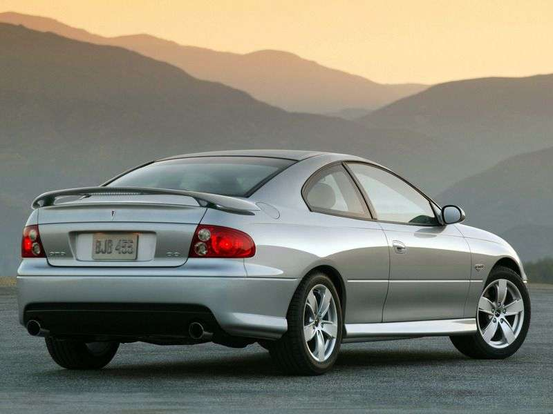 Pontiac GTO 3rd generation [restyling] coupe 6.0 AT (2005–2006)
