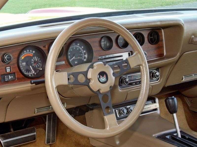 Pontiac Firebird 2nd generation [2nd restyling] Formula Coupe 6.6 3MT (1976–1977)