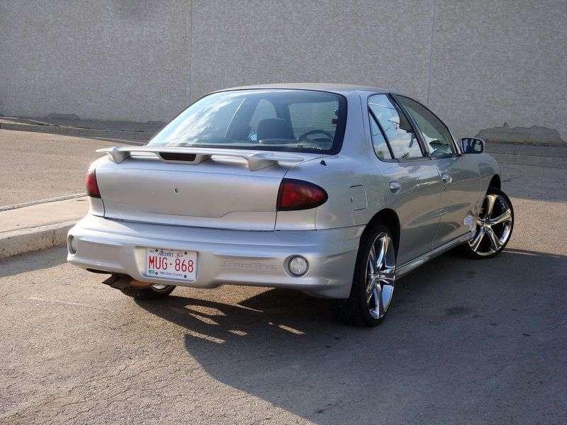 Pontiac Sunfire 1st generation [restyling] SE 2.4 MT sedan (2000–2002)