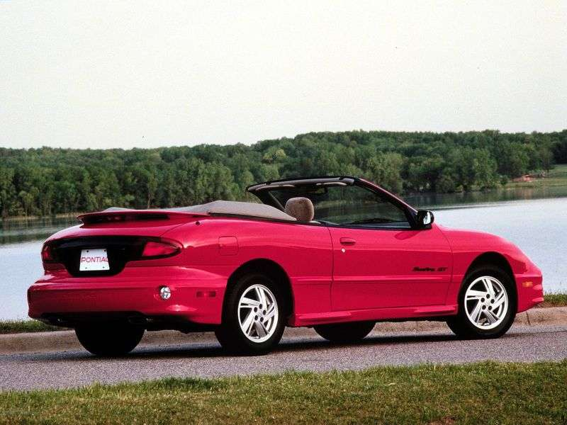 Pontiac Sunfire 1st generation [restyling] 2.4 AT cabrio (2000–2002)