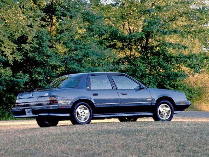Pontiac 6000 1. generacja [3. zmiana stylizacji] sedan 2.5 AT (1989 1991)