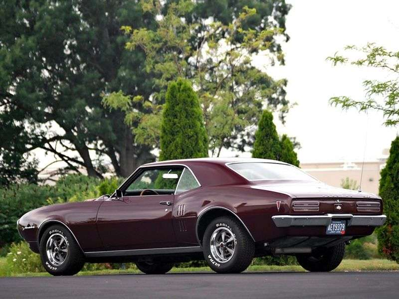Pontiac Firebird 1st generation [restyling] coupe 5.7 4MT (1968–1968)